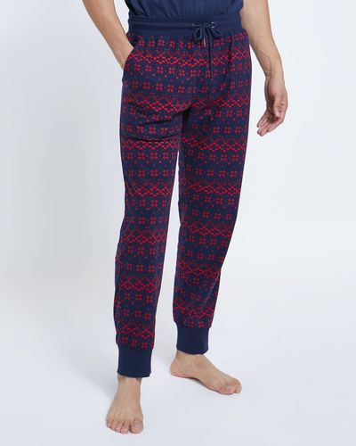 Fair Isle Soft Fleece Pant