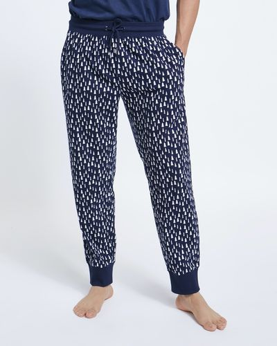 Print Soft Fleece Pants