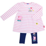 pink Peppa Pig Two Piece Set