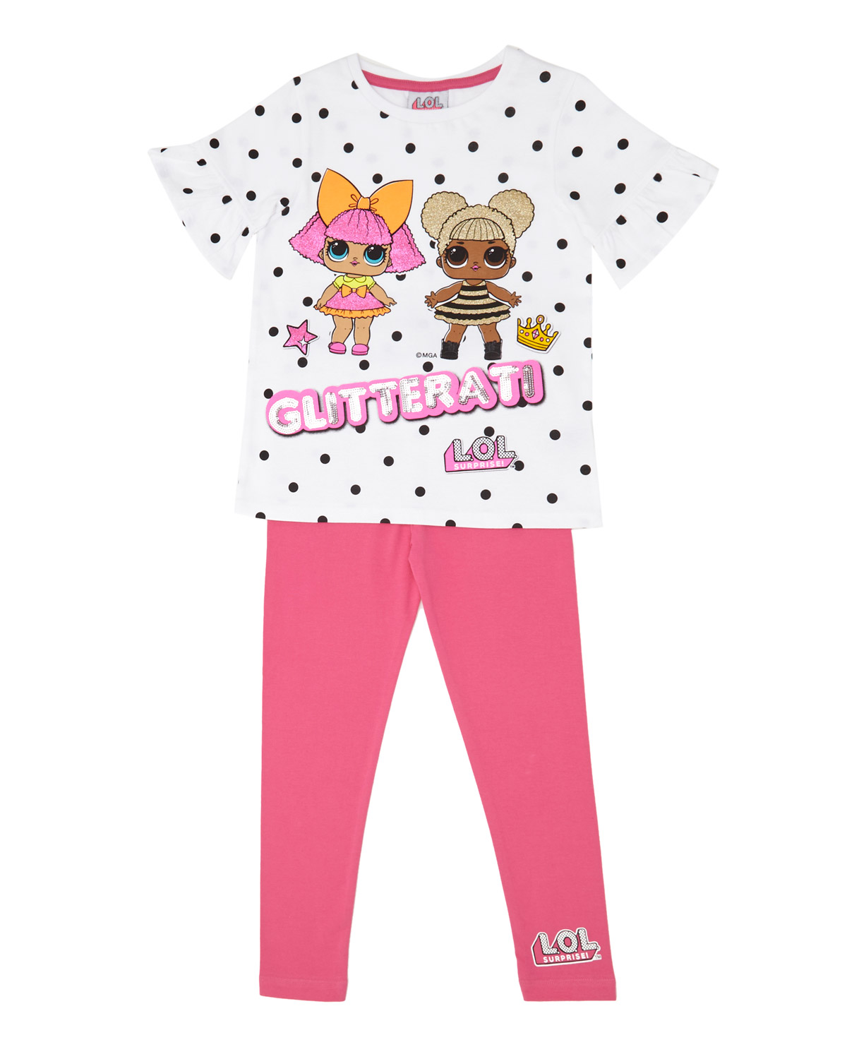 Girls Two-Piece LOL Surprise Set (4-10 years)