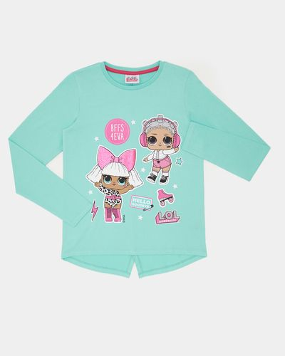 Girls LOL Surprise Glitter Print Top (4-10 years)