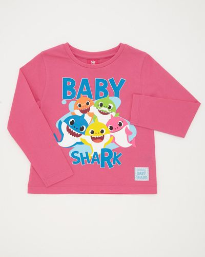Baby Shark Pink Top (12 months-5 years)