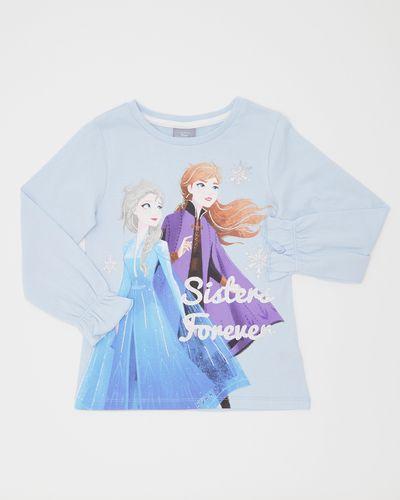Girls Frozen Long-Sleeved Top (4-10 years)