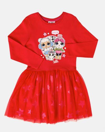 Girls LOL Glitter Dress (4-10 years)