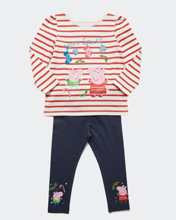 Peppa Xmas Two-Piece Set (12 months-5 years)