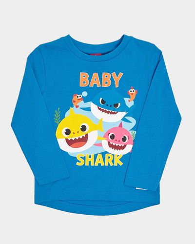 Baby Shark Blue Top (12 months-5 years) thumbnail