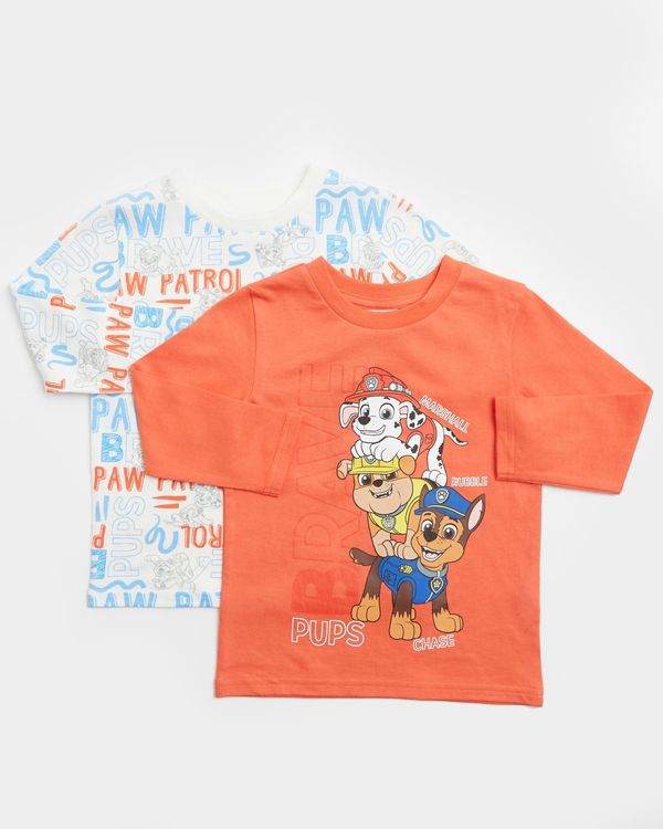 Paw Patrol Tops - Pack Of 2 (12 months-5 years)