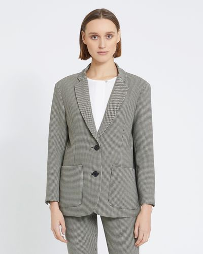 Carolyn Donnelly The Edit Houndstooth Jacket