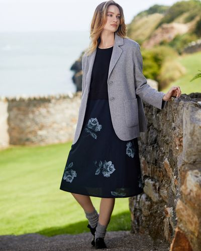 Carolyn Donnelly The Edit Double Layer Wool Jacket