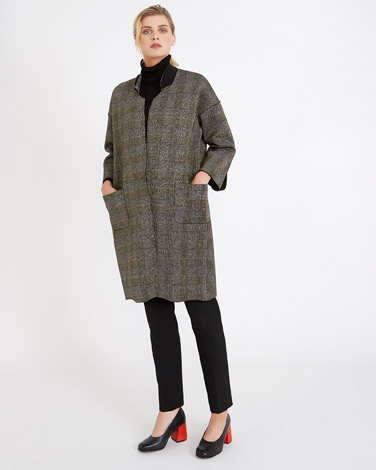 goldCarolyn Donnelly The Edit Lurex Coat