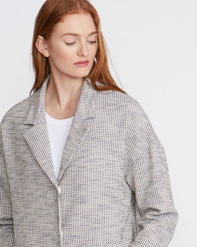 Carolyn Donnelly The Edit Textured Waffle Coat