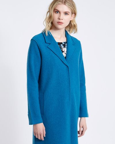 Carolyn Donnelly The Edit Boiled Wool Crombie Coat