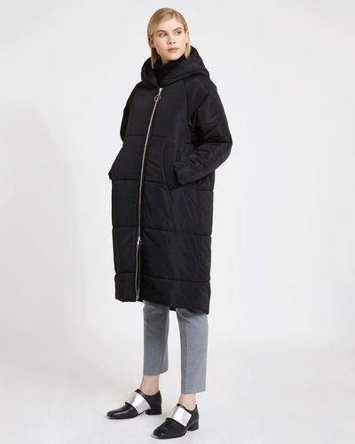 Carolyn Donnelly The Edit Quilted Hooded Parka