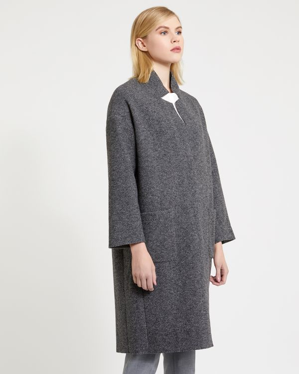 Carolyn Donnelly The Edit Bonded Wool Mix Coat
