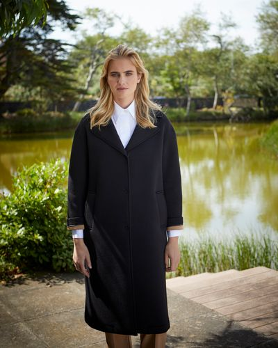 Carolyn Donnelly The Edit Jersey Bonded Coat