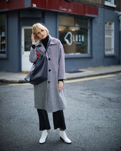 Carolyn Donnelly The Edit Tweed Coat