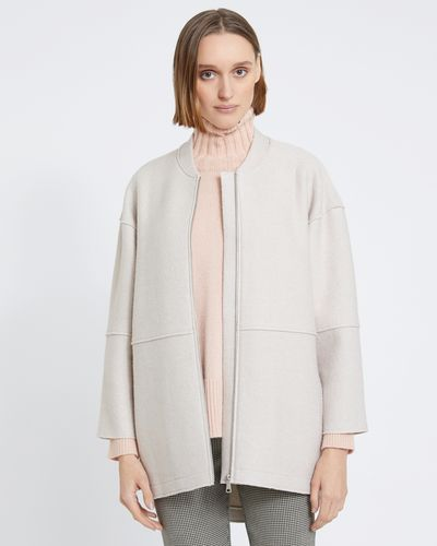 Carolyn Donnelly The Edit Bonded Boiled Wool Coat