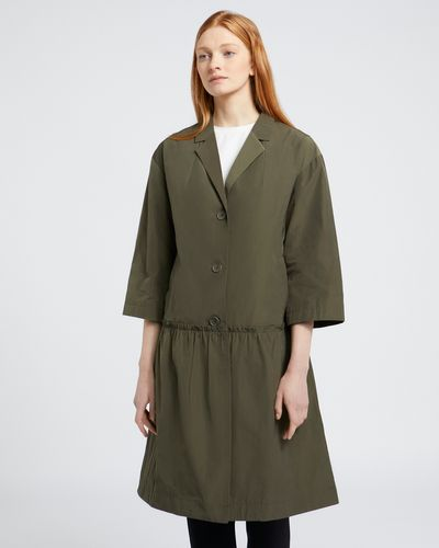 Carolyn Donnelly The Edit Flounce Hem Coat