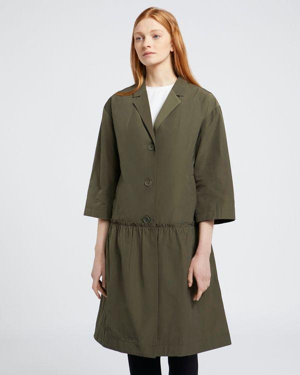 Carolyn Donnelly The Edit Flounce Hem Coat