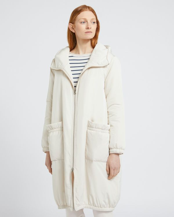 Carolyn Donnelly The Edit Hooded Parka Coat