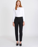 black Carolyn Donnelly The Edit Slim Trousers