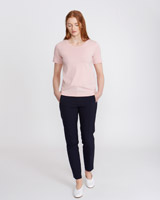 navy Carolyn Donnelly The Edit Slim Trousers