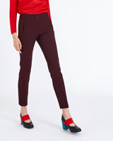 chocolate Carolyn Donnelly The Edit Slim Trousers