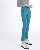blue Carolyn Donnelly The Edit Slim Trousers