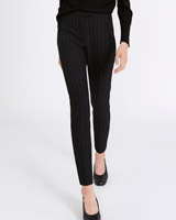 black Carolyn Donnelly The Edit Pinstripe Trousers