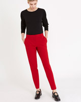 red Carolyn Donnelly The Edit Tailored Trousers