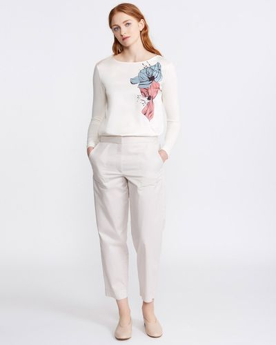 Carolyn Donnelly The Edit Cotton Trouser