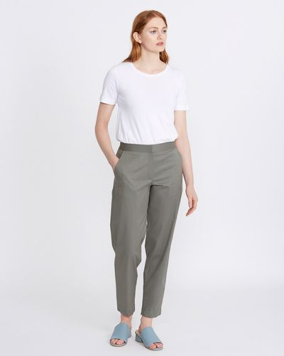 Carolyn Donnelly The Edit Cotton Trousers