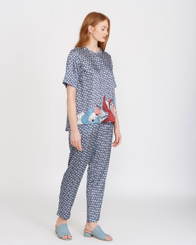 Carolyn Donnelly The Edit Print Trousers