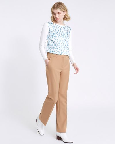 Carolyn Donnelly The Edit Straight Leg Trousers