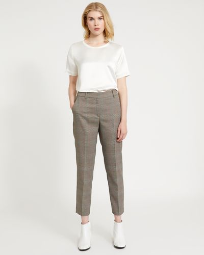 Carolyn Donnelly The Edit Check Trousers