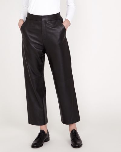 Carolyn Donnelly The Edit Leather Trousers