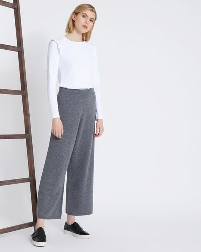Carolyn Donnelly The Edit Cashmere Mix Knit Pants