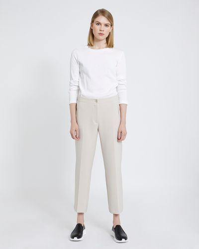 Carolyn Donnelly The Edit Tailored Straight Leg Trousers