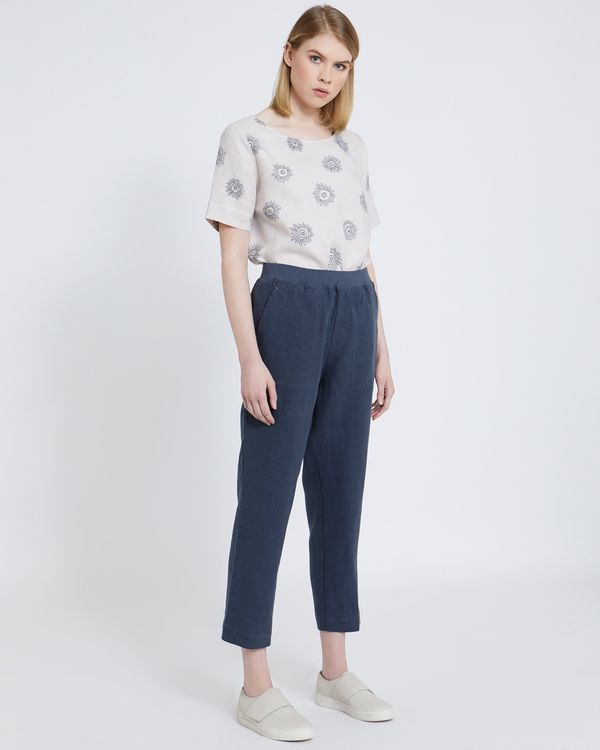 Carolyn Donnelly The Edit Linen Trousers
