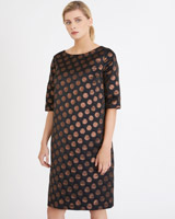 bronze Carolyn Donnelly The Edit Spot Dress