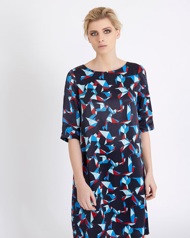 printCarolyn Donnelly The Edit Origami Print Dress