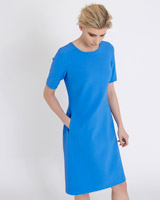 blue Carolyn Donnelly The Edit Front Pocket Dress