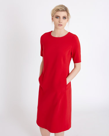 redCarolyn Donnelly The Edit Front Pocket Dress
