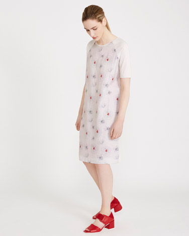 stoneCarolyn Donnelly The Edit Printed Linen Dress