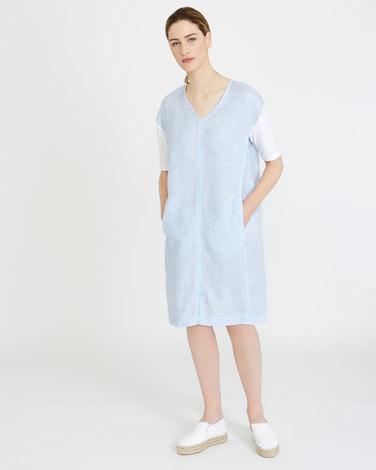 blueCarolyn Donnelly The Edit Chambray Dress