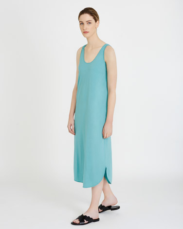 blueCarolyn Donnelly The Edit Washed Jersey Dress