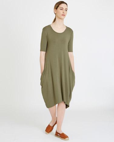 khakiCarolyn Donnelly The Edit Jersey Dress