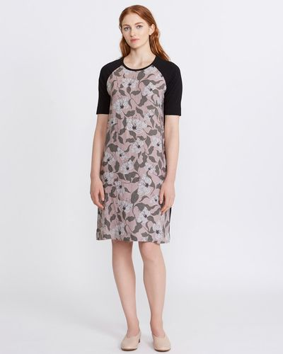 Carolyn Donnelly The Edit Printed Linen Dress