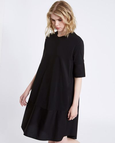 Carolyn Donnelly The Edit Cotton Hem Dress