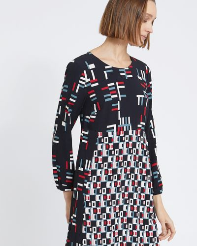 Carolyn Donnelly The Edit Geo Print Dress